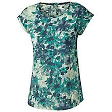 Buy Fat Face Barcelona Lagoon Cotton Top, Ocean Tide Online at johnlewis.com