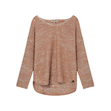 Buy Gerard Darel Amullette Jumper, Nutmeg Online at johnlewis.com