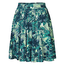 Buy Fat Face Jersey Lagoon Skirt, Ocean Tide Online at johnlewis.com