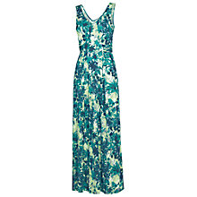 Buy Fat Face Emily Lagoon Maxi Dress, Ocean Tide Online at johnlewis.com