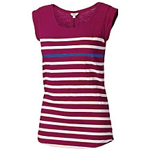 Buy Fat Face Devon Cotton Top, Sum Berry Online at johnlewis.com