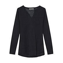 Buy Gerard Darel Angus Jumper, Midnight Blue Online at johnlewis.com