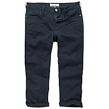 Buy Fat Face Dye Twill Cropped Trousers, Night Sky Online at johnlewis.com
