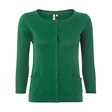 Buy White Stuff Samphire Cardigan, Cactus Green Online at johnlewis.com