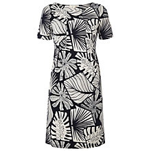 Buy White Stuff Indoor Garden Dress, Navy Online at johnlewis.com