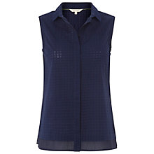 Buy White Stuff Simplicity Vest Top, Navy Online at johnlewis.com