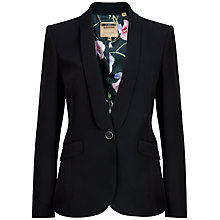 Buy Ted Baker Evah Crepe Suit Jacket, Black Online at johnlewis.com