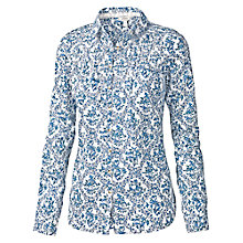 Buy Fat Face Pretty Bluebird Shirt, White Online at johnlewis.com