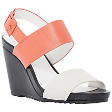 Buy Dune Klarrissa Leather Wedges Online at johnlewis.com