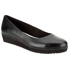 Buy Clarks Compass Zone Flatform Pumps Online at johnlewis.com