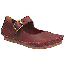 Buy Clarks Janey June Wide Fit Leather Mary Jane Pumps Online at johnlewis.com