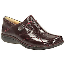 Buy Clarks Unloop Leather Shoe Boots Online at johnlewis.com