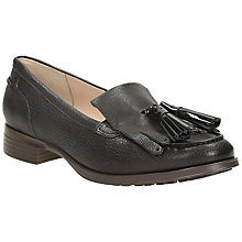 Buy Clarks Busby Tassel Detail Low Heeled Loafers Online at johnlewis.com