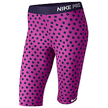 "Buy Nike Pro 11"" Printed Compression Shorts Online at johnlewis.com"