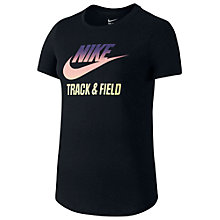 Buy Nike Track & Field Gradient T-Shirt Online at johnlewis.com
