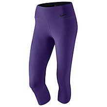 Buy Nike Legendary Tight Capri Trousers Online at johnlewis.com