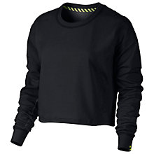 Buy Nike Crew Cropped Sweatshirt Online at johnlewis.com