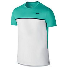 Buy Nike Challenger Crew Neck Tennis T-Shirt Online at johnlewis.com