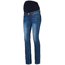 Buy Mamalicious Frey Bootcut Maternity Jeans, Blue Online at johnlewis.com