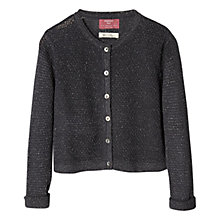 Buy Mango Kids Girls' Metal Thread Cardigan Online at johnlewis.com
