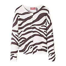 Buy Mango Kids Girls' Animal Print Cardigan Online at johnlewis.com