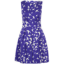 Buy Closet Bird Cut Out Dress, Blue Online at johnlewis.com