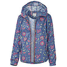 Buy Fat Face Cribbar Floral Shadow Jacket, Navy Online at johnlewis.com