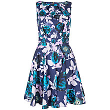 Buy Closet Watercolour Dress, Multi Online at johnlewis.com