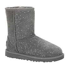 Buy UGG Classic Short Constellation Boots, Granite Online at johnlewis.com