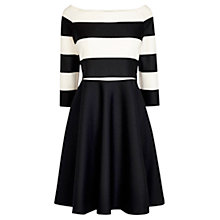 Buy Coast Immy Bardot Dress, Mono Online at johnlewis.com