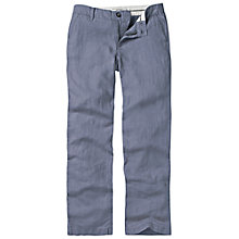 Buy Fat Face Linen Straight Leg Trousers Online at johnlewis.com