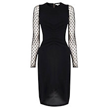 Buy Coast Jolana Dress, Black Online at johnlewis.com