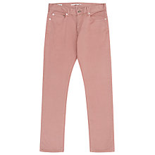 Buy Reiss Blackbird Slim Fit Trousers, Rose Online at johnlewis.com
