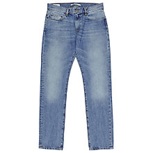 Buy Reiss Southland Light Wash Slim Jeans, Light Blue Online at johnlewis.com