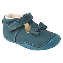 Buy Start-rite Amelia Nubuck Leather Shoes, Teal Online at johnlewis.com