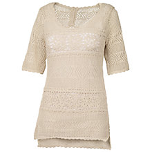 Buy Fat Face Harpford Lace T-Shirt Online at johnlewis.com