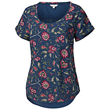 Buy Fat Face Jasmine Indian Shell Top, Dark Chambray Online at johnlewis.com