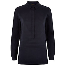 Buy Jaeger Contemporary Tunic, Midnight Online at johnlewis.com