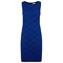 Buy Precis Petite Lace Dress, Bright Blue Online at johnlewis.com