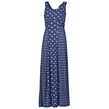 Buy Fat Face Emily Patch Amana Maxi Dress, Navy Online at johnlewis.com