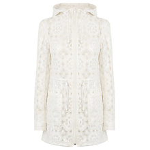 Buy Warehouse Lace Pac A Mac, White Online at johnlewis.com