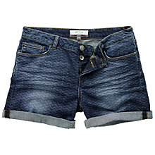 Buy Fat Face Zig Zag Shorts, Denim Online at johnlewis.com