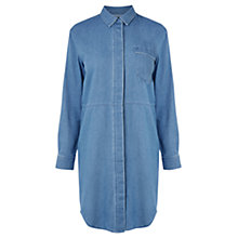 Buy Warehouse Denim Shirt Dress, Mid Wash Online at johnlewis.com