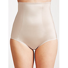 Buy John Lewis Firm Control High Waist Briefs, Nude Online at johnlewis.com