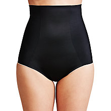 Buy John Lewis Firm Control High Waist Briefs, Black Online at johnlewis.com