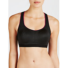Buy John Lewis Sports Crop Top, Black Online at johnlewis.com
