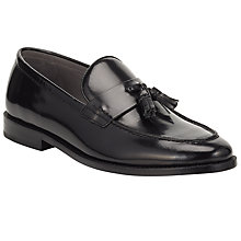 Buy Kin by John Lewis Jono Tassel Loafers, Black Online at johnlewis.com