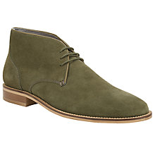 Buy Kin by John Lewis Bobby Suede Desert Boots, Green Online at johnlewis.com