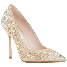 Buy Dune Beautie Embellished Stiletto Court Heels Online at johnlewis.com