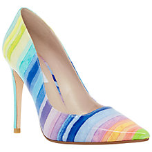 Buy Dune Brooks Extreme Pointed Toe Court Shoes, Multi Online at johnlewis.com